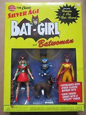 DC Direct Classico Argento la Batgirl di età e BATWOMAN Action Figure Set, scarse