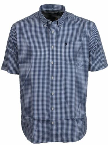 taille S-XXL Farah coton riche SS gingham check chemises HOGAN 3 coloris