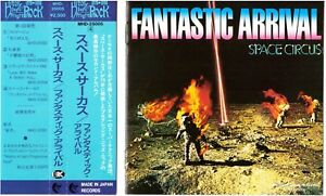 SPACE-CIRCUS-Fantastic-Arrival-CD-Jazz-Rock-Fusion-Prog-RARE-OG-on-Made-in-Japan