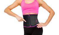 Pink Shaper Tummy Trimmer Waist Cincher Shapewear Girdle Corset Slimming Belt