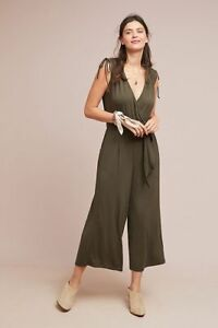 d0f5795e182 Image is loading 148-Anthropologie-ALISANDE-JUMPSUIT-new-nwt-S