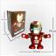 Dancing-Iron-Man-Figure-Hero-Marvel-Avengers-Infinity-War-Electric-Sound-Toy-LED thumbnail 3