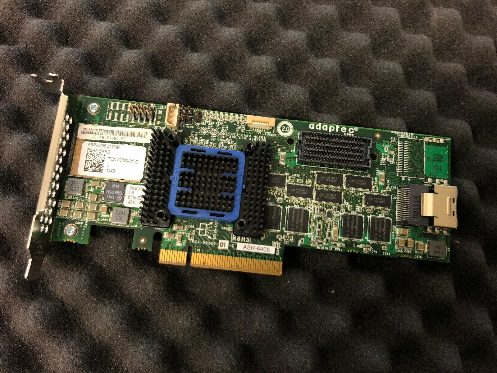 Adaptec RAID 6405 SAS/SATA 600 512MB PCIe x8 IMMEDIATE SHIPPING!!!