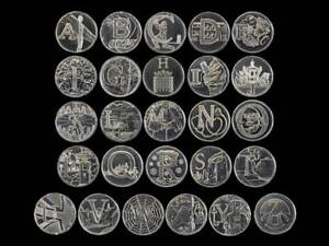 2018 Uncirculated Royal Mint Alphabet A to Z New 10p Ten Pence Choose Your Coin