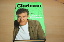 JEREMY CLARKSON - DRIVEN TO DISTRACTION HARDBACKED BOOK