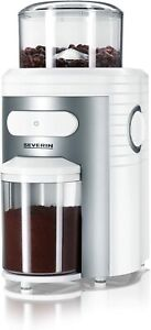 Severin S73873 Coffee Grinder with 150 W of Power KM 3873, White-Silver