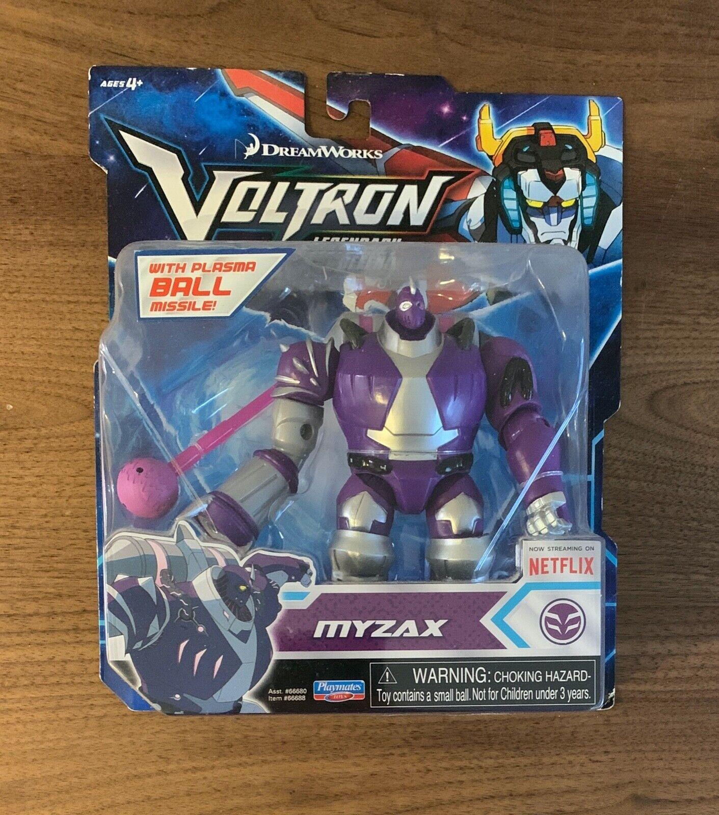 """VOLTRON Legendary Defender MYZAX Basic Figure Playmates 5/"""" Netflix Robeast"""