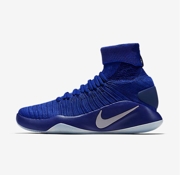 Nike MEN'S Hyperdunk 2018 FLYKNIT Game Royal/Deep Royal Blue SIZE 11.5 NEW
