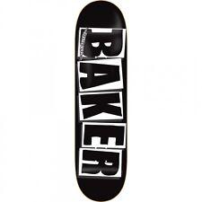 Baker-Logo Brand Nero Bianco Skateboard Deck 8 pollici grip + spedizione gratuita