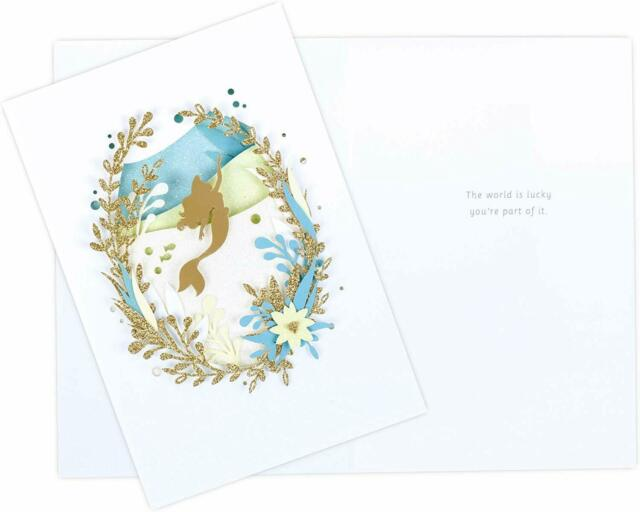3D Champagne Glass Design Anniversary Card from Hallmark