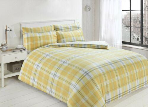 Luxe Teddy Polaire Carreaux Style Housse De Couette Doux Confortable Hiver ensembles de literie LW
