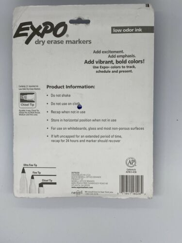 Expo Dry Erase Chisel Tip 21 pack