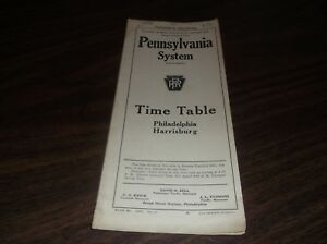 JUNE-1921-PRR-PENNSYLVANIA-RAILROAD-FORM-41-PUBLIC-TIMETABLE