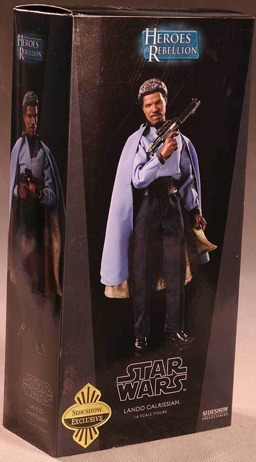 Exclusive Edition  Lando Calrissian Sideshow Sideshow Sideshow Collectibles Star Wars 1 6 Figure 9d6f5c