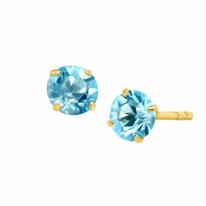 5-8-ct-Natural-Aquamarine-Round-Cut-Stud-Earrings-in-10K-Gold