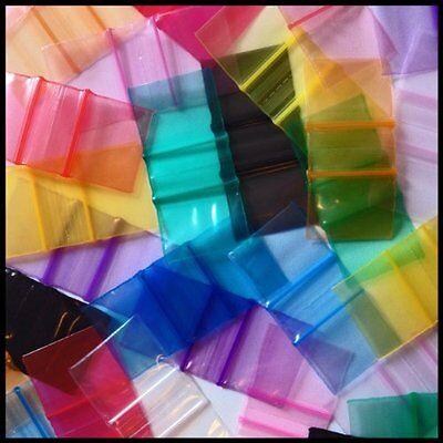 50 x 50 mm Baggies Design//Coloured Grip Seal Bags Resealable Baggie 200//500//1000