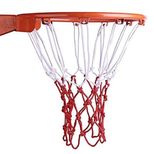 Durable Standard Mesh Thread Sports Hoop Goal Red Basketball Rim Mesh Nets YW