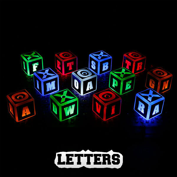 Educational Series Laser Pegs Lighted Building Toy STEM Word Number Number Number Letter 0740c8