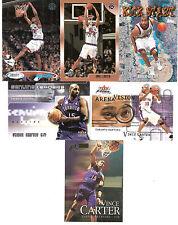 Vince Carter lot- 6 diff. w/RC-  Raptors Nets Magic Suns Mavericks