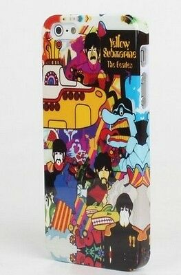 New Retro The Beatles Yellow Submarine Hard Back Cover Case For iPhone 4G 4S