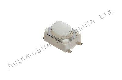 Set of 3 micro tactile switches for Citroen remote key fob 4.2mm x 3.2mm x 2.5mm