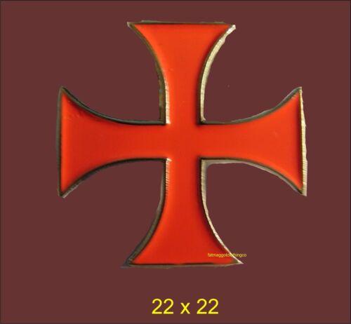Knights Templar Crusader English Templar Enamel Pin Badge