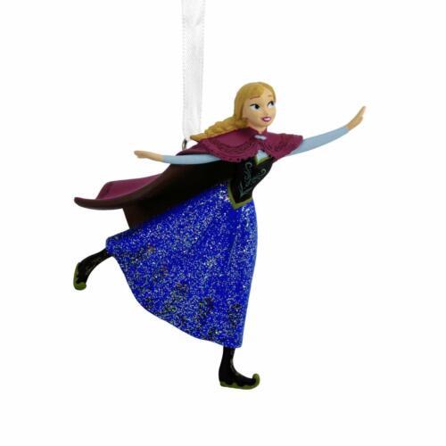 Hallmark Disney Frozen Anna Skating Ornament New!