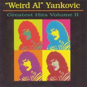 New Weird Al Yankovic Weird Al Yankovic Greatest Hits Volume 2 Audio Cd 614223202624 Ebay