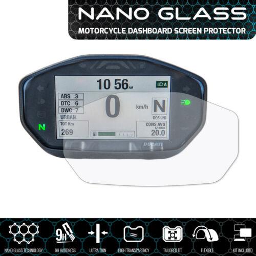 2019+ DUCATI HYPERMOTARD 950 Nano verre tableau de bord protecteur d/'écran
