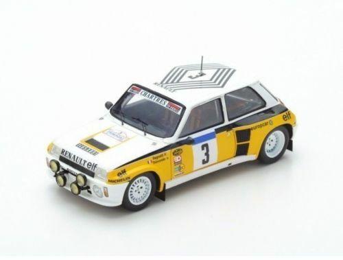 Erenault 5 Turbo n.3 ganador del Tour de France 1984 J. RAGNOTTI S3863 Spark 1 43 Nuevo