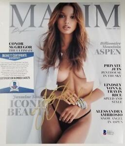 136ccb8d90 Model JASMINE TOOKES Signed 8x10 Photo Auto Maxim Magazine ~ BAS ...