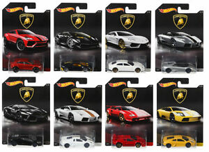 HOT-WHEELS-LAMBORGHINI-Diecast-Collezione-Cars-DWF21-SCALA-1-64-Set-8