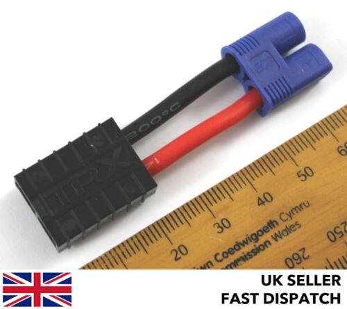 Connecteur Adaptateur//fil//câble 30 mm TRAXXAS 3.5 mm Bullet TRX femelle pour EC3 Mâle