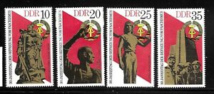 GERMANY-GERMAN-DEMOCRATIC-REPUBLIC-DDR-Sc-1639-1642-MINT-NO-HINGE