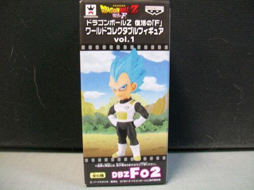 Banpresto Dragon Ball Z 2.8-Inch Vegeta Movie WCF Volume 1 DBZ02 #soct17-245