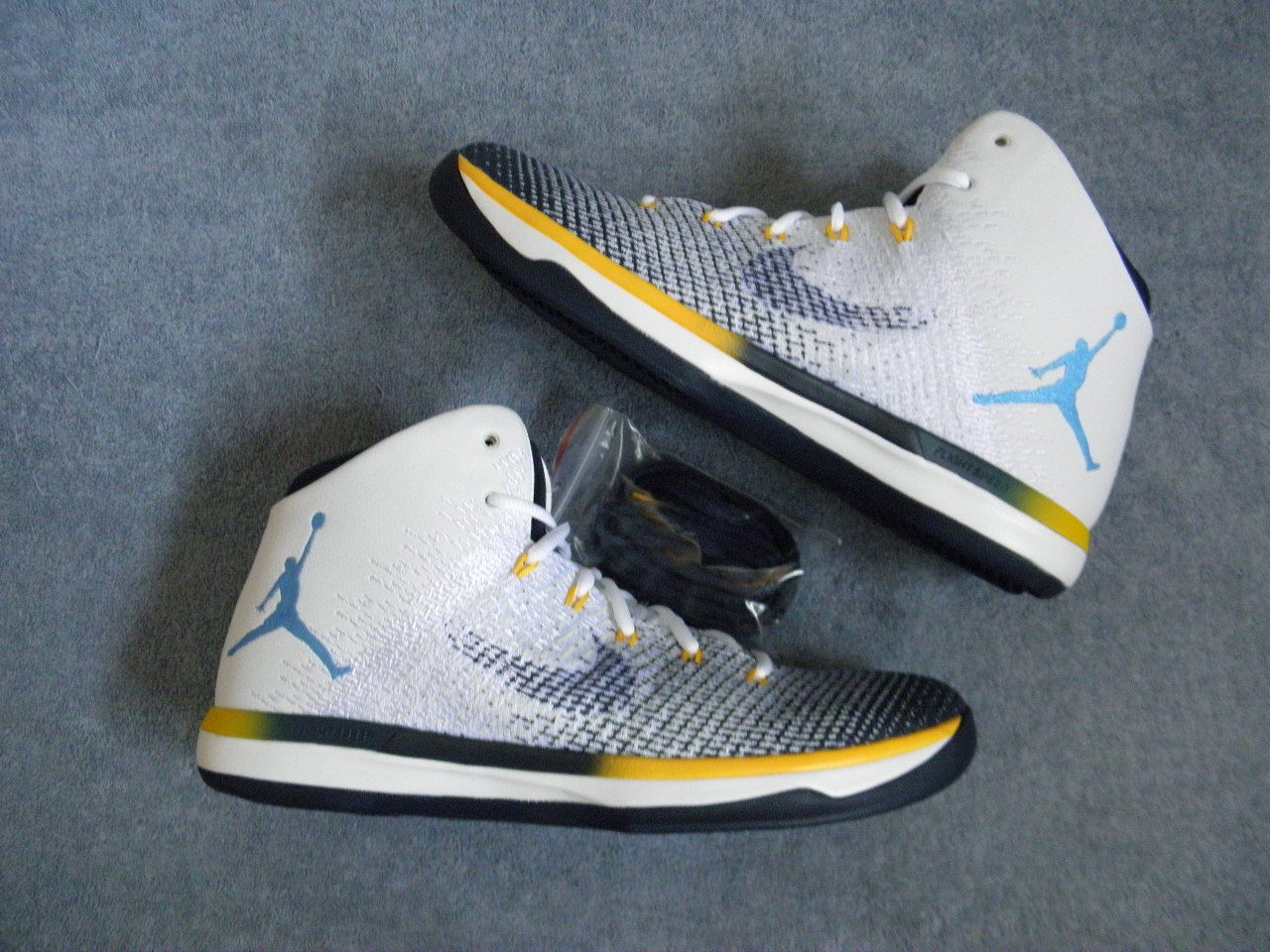 Nike Air Jordan XXX1 XXXI 31 Marquette PE Player Sample Edition sz 11 HOME WHITE