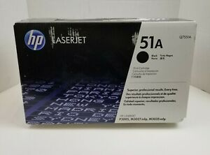 HP-51A-Black-Toner-New-Genuine-And-Unopened