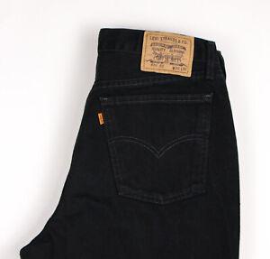 Levi's Strauss & Co Hommes 626 02 Vintage Orange Étiquette Jean Taille W36 L32
