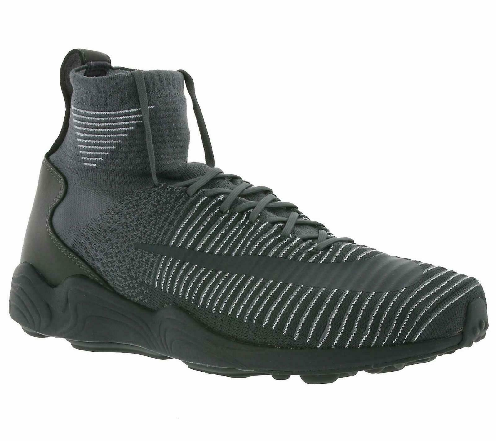 1df80383e Nike Mens 9.5 Zoom Mercurial XI Flyknit FK Soccer Lifestyle Boot ...