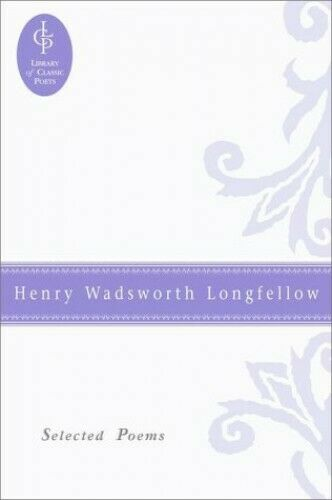 Henry Wadsworth Longfellow American Poet Stretched Canvas