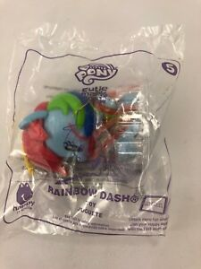 Details about RAINBOW DASH MCDONALD'S HAPPY MEAL TOY My Little Pony Cutie  Mark Crew #5 2018