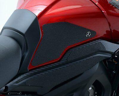 Yamaha Tracer 900 GT 2018 2019 R/&G Tank Traction Grip Pads EZRG919BL Black
