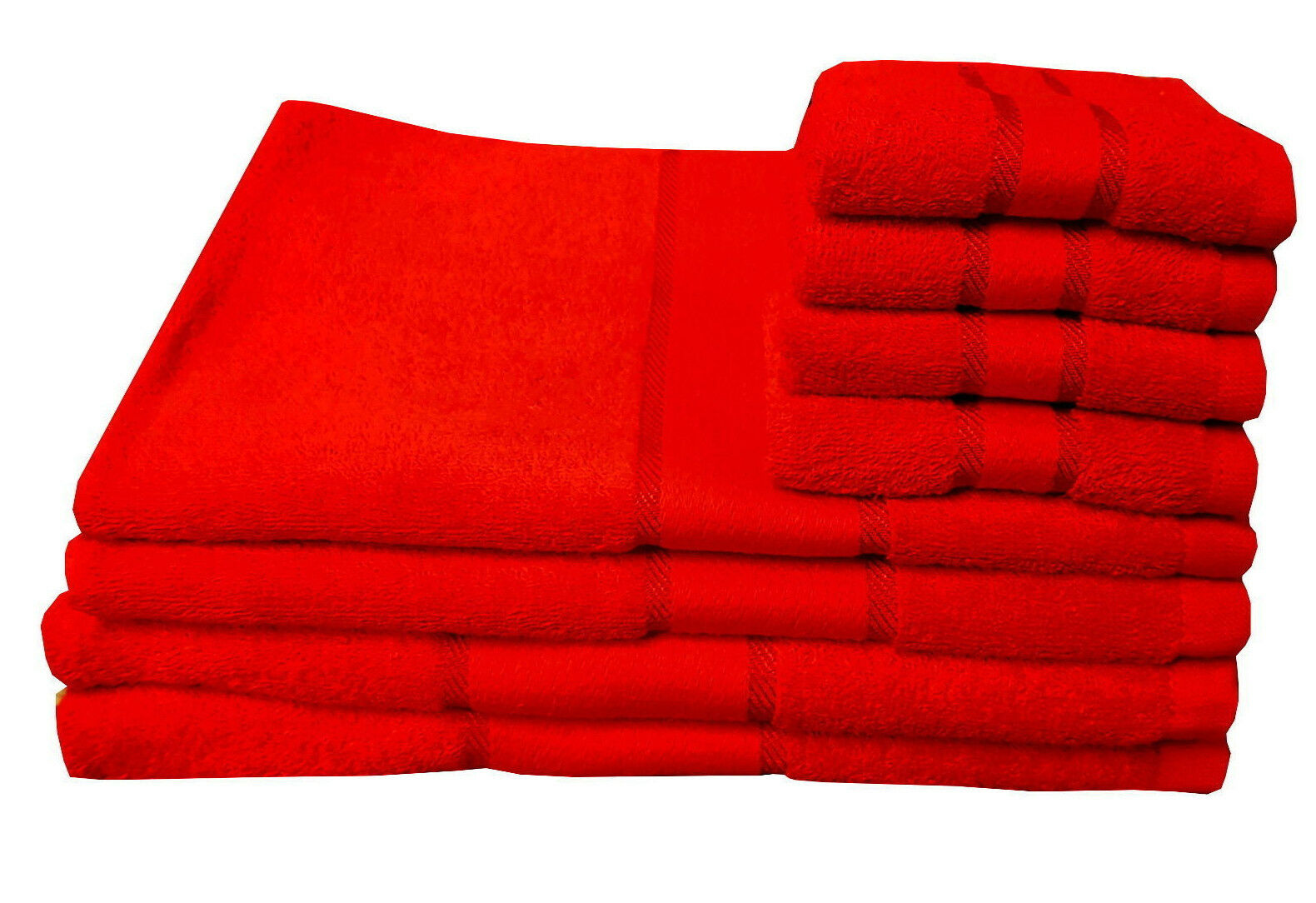 Rot 400 GSM Handtücher Aus Ägyptischer Baumwolle Luxus Gekämmt Gast Hand Bade | Exquisite (in) Verarbeitung
