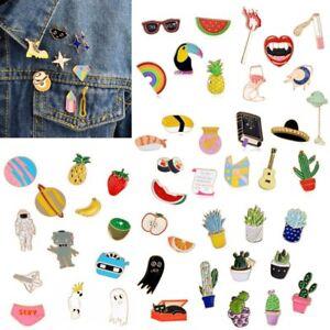 b87a4d5ced2 Image is loading Fashion-Lovely-Cute-Cartoon-Enamel-Lapel-Badge-Collar-