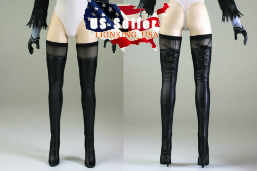 1//6 Black Leather Boots For PHICEN Nier Automata YoRHa No.2 B A Figure ❶USA❶