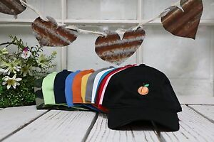 abb7c0a5 Peach Dad Hat | Peach Emoji Baseball Polo Caps Hats - Many Colors ...