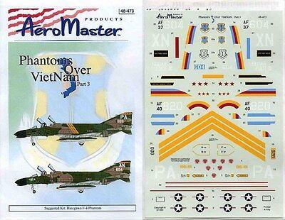 Aeromaster 48-473 - Decals 1/48 - Phantoms Over Vietnam Pt. 3 Essere Altamente Elogiati E Apprezzati Dal Pubblico Che Consuma