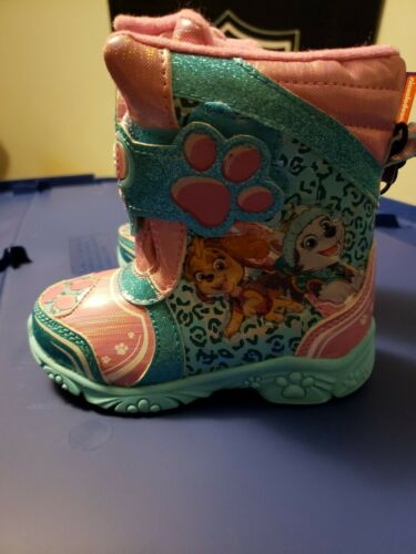 Girl/'s Winter Boots Toddler Size 6-10 you pick Paw Patrol With Lights