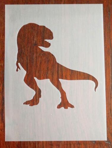 DIY A5 T-Rex Dinosaur Stencil Reusable PP Sheet for Arts /& Crafts