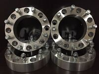 4x 2 Inch 8 Lug Wheel Spacers 8x6.5 Fit Dodge Ram Ford F 250 F350 9/16 Stud Set on sale